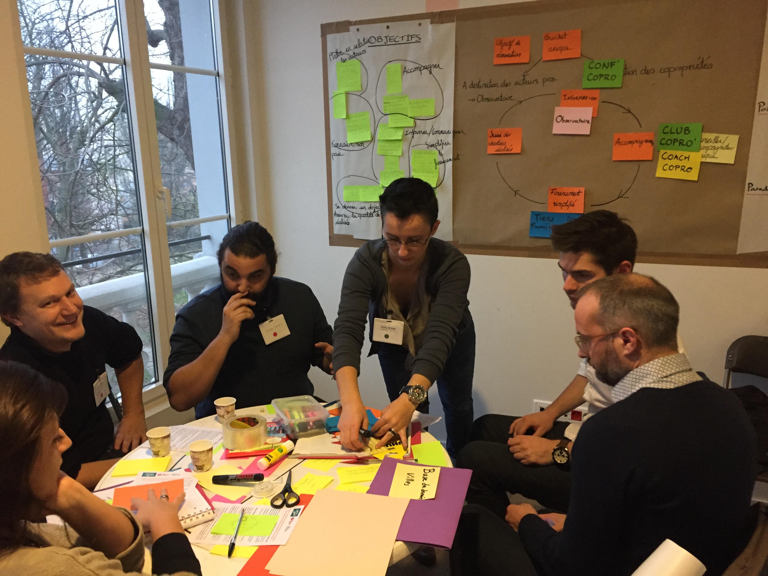 Des participants enthousiastes à l'idée de mieux se coordonner, de simplifier l'accès aux dispositifs